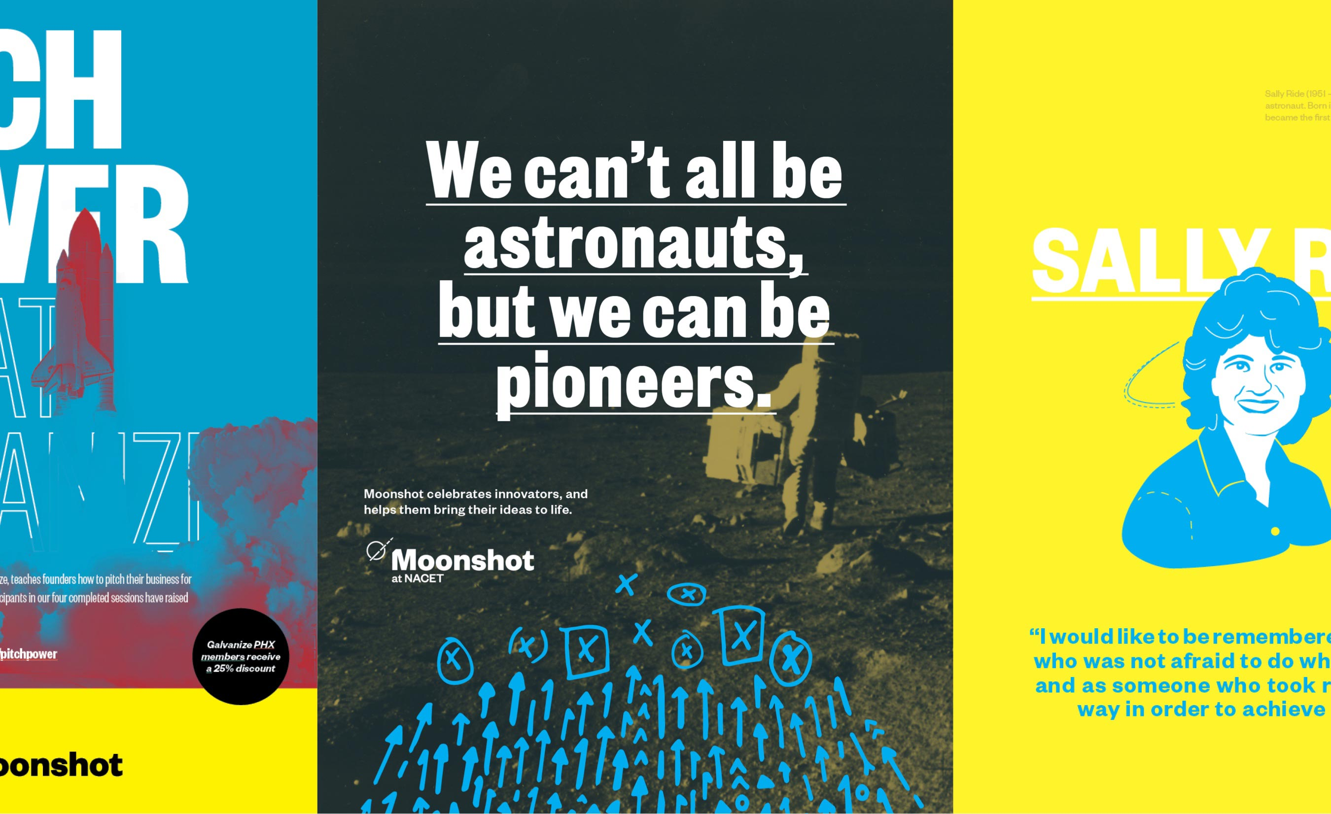Moonshot Posters